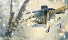 Vogelfutterspender Vogelfutterhaus  Vogelfutterstation zum Aufhängen und Stecken