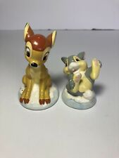 New ListingDisney Bambi and Thumper Salt & Pepper Shakers
