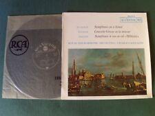 CHARLES GERHARDT : JEAN-CHRETIEN BACH - VIVALDI - HAYDN LP RCA VICTOR 430.653 S