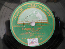 78 TOURS-GRAMOPHONE SG. 47 - LOUIS ARMSTRONG -MAHOGANTHALL STOMP - N°90