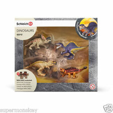 GERMANY SCHLEICH WORLD OF NATURE MODEL SH42212 DINOSAURS & LAVA FIELD PUZZLE A