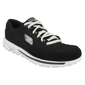 LADIES SKECHERS TRAINERS GO WALK BABY 13569 LACE UP CASUAL TRAINERS SHOES SIZE