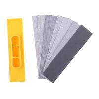 Handheld Polishing Sander + 7pcs Sandpapers Model Craft Finishing Abrasives