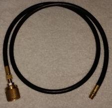"Forklift propane/LPG liquid fuel hose - 5 foot - 1 1/4"" ACME to 1/4"" NPT"