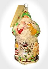 Patricia Breen Noel Theater Pearl Candy Canes Snowman 2005 #2500Nm Neiman 5.70�