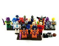 Kre-O Transformers Kreon Minifigures Lot of 18 with Constructicon Devastator