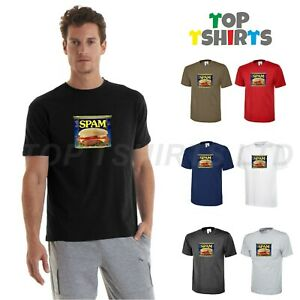 SPAM SPAM SPAM I.t Crowd Funny Mens Tshirt Food Lover