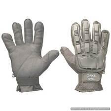 Valken V-Tac Full Finger Hard Back Gloves - Black - Small