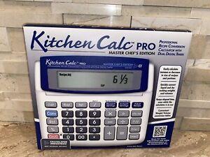 Calculated Industries 8305 Kitchen Calc PRO Recipe Conversion Culinary Math