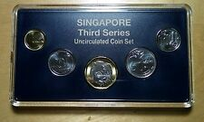 Singapore 2013 Third 3rd Series Mint BU UNC Coins Set Original Plastic Case