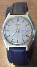Vintage men's SEIKO 6106-8019 automatic day date wristwatch, runs good, 4F