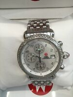 Michele Csx Diamond Chronograph Watch