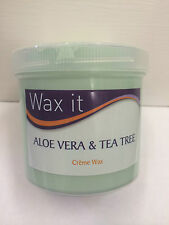 WAX IT ALOE VERA & TEA TREE CREME WAX (450G)