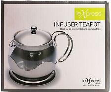 Le'Xpress Glass Infuser 900ml Teapot