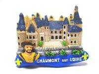 Chaumont Sur Loire Imán Poliresina, Recuerdo Francia Nuevo Candado