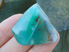 Ajoite in Quartz polished gemstone Natural Rare 21g