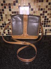 Brown Leather MUIGI-DOEER Jack & Jones Collection Flap-Over Crossbody