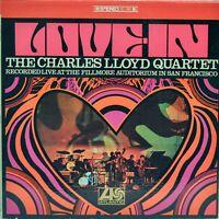 "The Charles Lloyd Quartet ""Love-In"" 1967 Vinyl LP [Atlantic SD1481]"