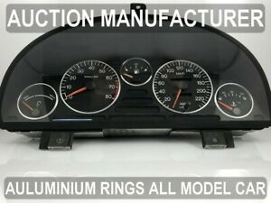 Peugeot 405 1987-1996 Chrome Cluster Gauge Dashboard Rings Speedo Trim 5pcs