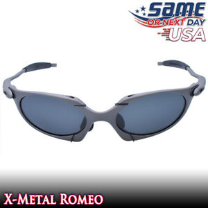 Romeo X-Metal Polarized Sunglasses with Black Iridium Lenses & Metal Frames -USA