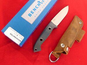 Benchmade 162 Bushcrafter Satin Finish Blade Fixed Knife