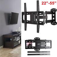 "Moveable Wall Mount TV Bracket Hanger Holder Universal For 32 39 40 43 46 50"" ch"