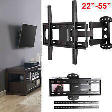 """Swivel Solid Strong Arm TV Wall Mount Bracket for 26""""- 52"""" 100 lbs Set Screw GOO"""