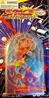 Vintage 1996 SPACE DEFENDERS Handheld Plastic PINBALL Machine GAME New & Sealed
