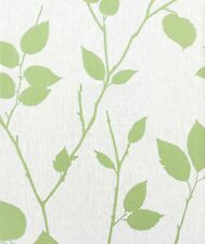 Graham & Brown vliestapete superfresco elemento 31-871 31871 hojas verde crema