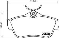 Mintex Rear Brake Pad Set MDB2903  - BRAND NEW - GENUINE - 5 YEAR WARRANTY