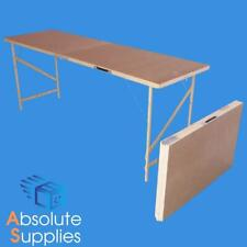 Wooden Hardboard Folding Wallpaper Paste Pasting Table CARBOOT
