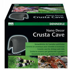Dennerle NanoDecor Crusta Cave M Keramikröhren für Garnelen und Krebse Aquarium