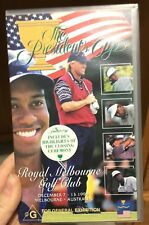 Golf - The Presidents Cup 1998 Melbourne Australia VHS TAPE (sports) * rare *