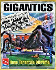GIGANTICS HUGH TARANTULA DIORAMA VINTAGE MODEL KIT AMT 1996