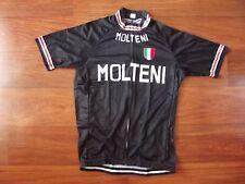 Brand New Team Molteni Black cycling Jersey, Eddy Merckx