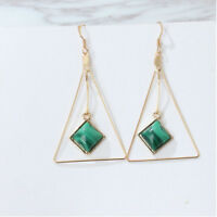 Girl Cos Korean Geometric Stud Minimalist Triangle Earrings Women Jewelry