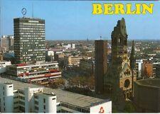 AK Berlin. Europa-Center + Kaiser-Wilhelm-Gedächtniskirche + Fernblick 1994 gel.
