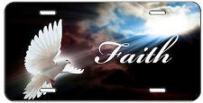 CUSTOM LICENSE PLATE INTO THE LIGHT DOVE CHRISTIAN FAITH  AUTO TAG
