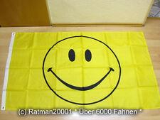 Fahnen Flagge Smiley Neu - 90 x 150 cm