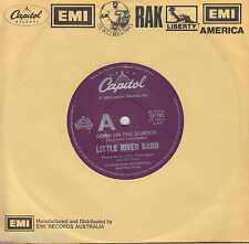 LITTLE RIVER BAND Down On The Border / No More Tears OZ 45 LRB