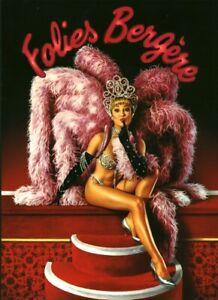 Programme revue cabaret Folies Bergères 1992