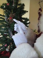 TTN 848 Gloves Big Men Parade Mime Santa Tuxedo Snap Stretch Nylon White XL