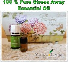 Young Living 100 % PURE Stress Away Essential Oil 1 ml or 2 ml Made in USA
