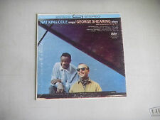 NAT KING COLE GEORGE SHEARING capitol cardboard  45 company picture sleeve only
