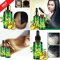 7 Day Ginger Germinal Hair Growth Dense Serum Hairdressing Oil Loss Treatement