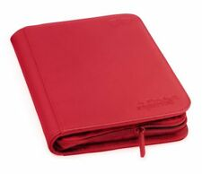 Ultimate Guard 4-pocket XenoSkin ZipFolio Red
