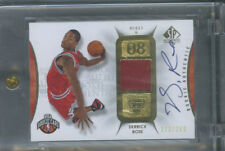 DERRICK ROSE 173/299 RC PATCH AUTO 2008 09 SP AUTHENTIC