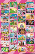 Candy Crush Grid game poster 22.5 x 34""
