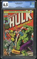 Incredible Hulk #181 CGC 6.5 (Marvel 11/74) 1st (full) appearance of Wolverine