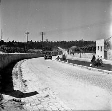 PORTUGAL c. 1950 - Auto Route de Porto Vila do Conde - Négatif 6 x 6 - Por 202